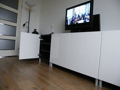 Tv Lift Meubel Ikea.Besta Met Tv Lift Tvliftcompany